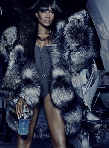 Naomi Campbell For Dennis Basso Fall Winter 2010 11
