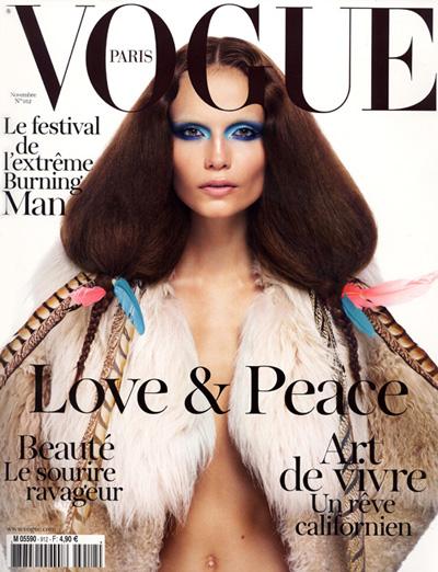 Natasha Poly For Vogue Paris November 2010