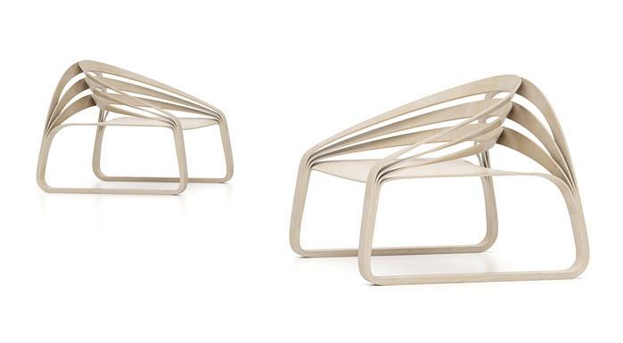 Ploop Chair by Timothy Schreiber