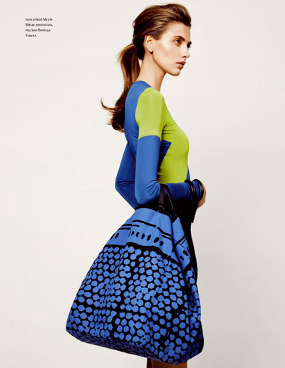 Alina Baikova for Bon Magazine