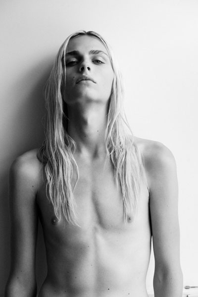 Andrej Pejic by Thomas Lohr