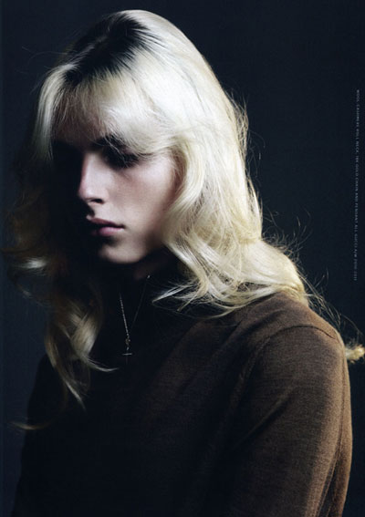 Andrej Pejic by Willy Vanderperre