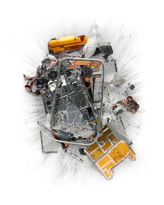 Apple Products Destroyed