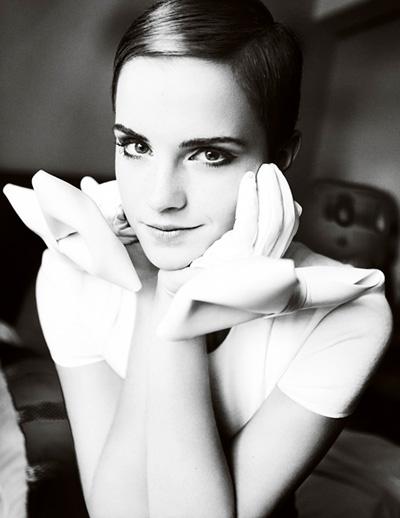 Emma Watson by Mario Testino