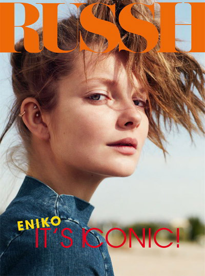 Eniko Mihalik by Benny Horne