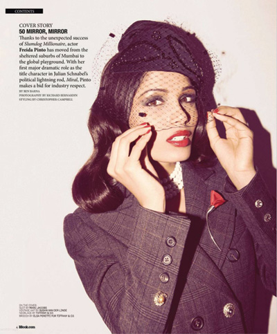 Freida Pinto by Richard Bernadin