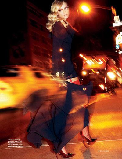 Jessica Stam by Greg Kadel
