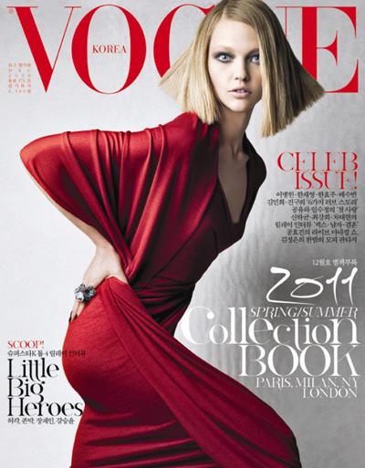Sasha Pivovarova VOGUE Korea