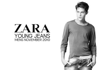 Cesar Casier for Zara