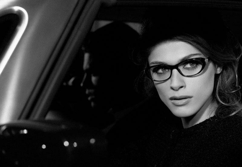 Elisa Sednaoui by Karl Lagerfeld