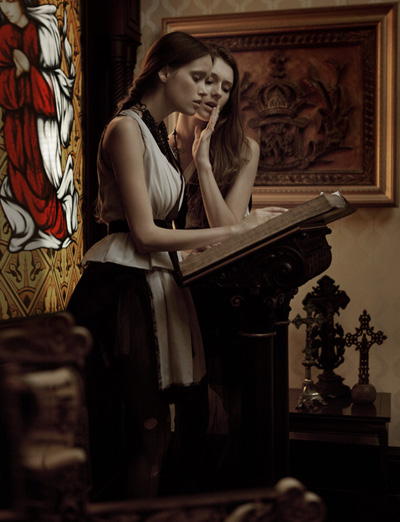 Renata Calheiros & Lillian Nicoletti by Luki