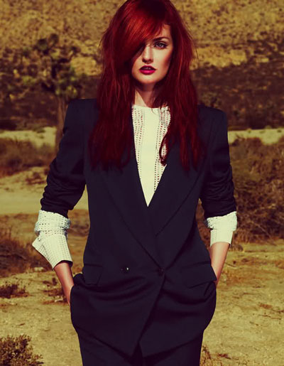 Lydia Hearst by Andrew Yee