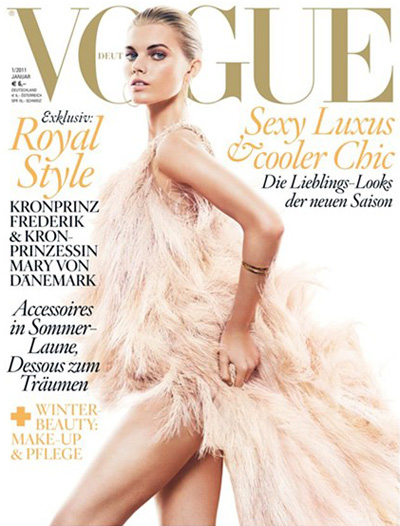 january 2011 vogue. Published: January 2011