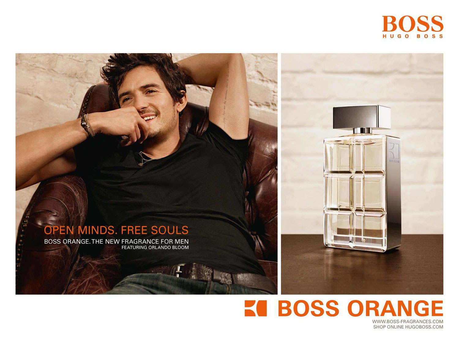Orlando Bloom for BOSS Orange