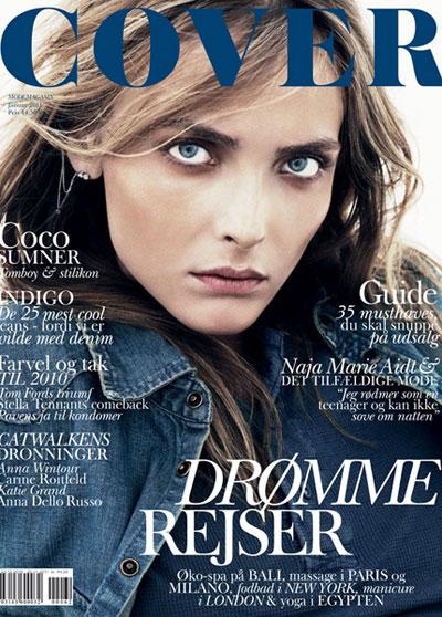 COVER Magazine Snejana Onopka