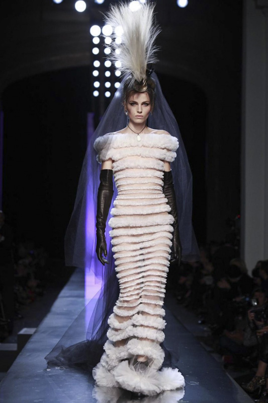 Andrej Pejic for Jean Paul Gaultier Haute Couture