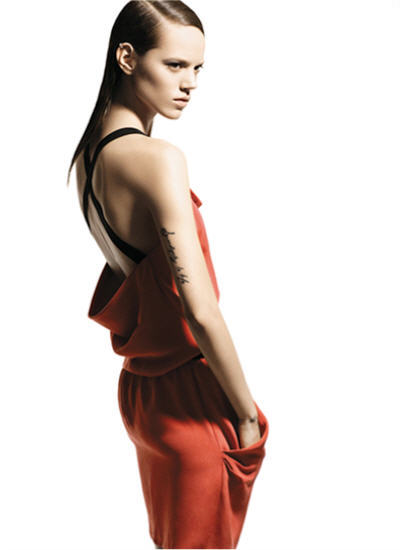 Freja Beha Erichsen for Mo&Co Spring 2011