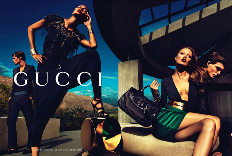 Gucci Campagne Fashion