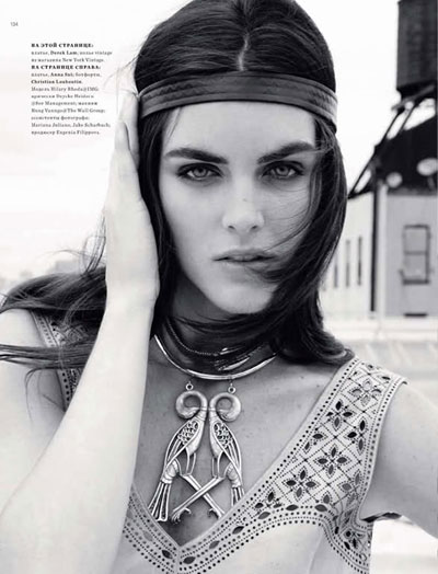 Hilary Rhoda by Alan Gelati