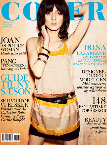 Irina Lazareanu for Cover Magazine