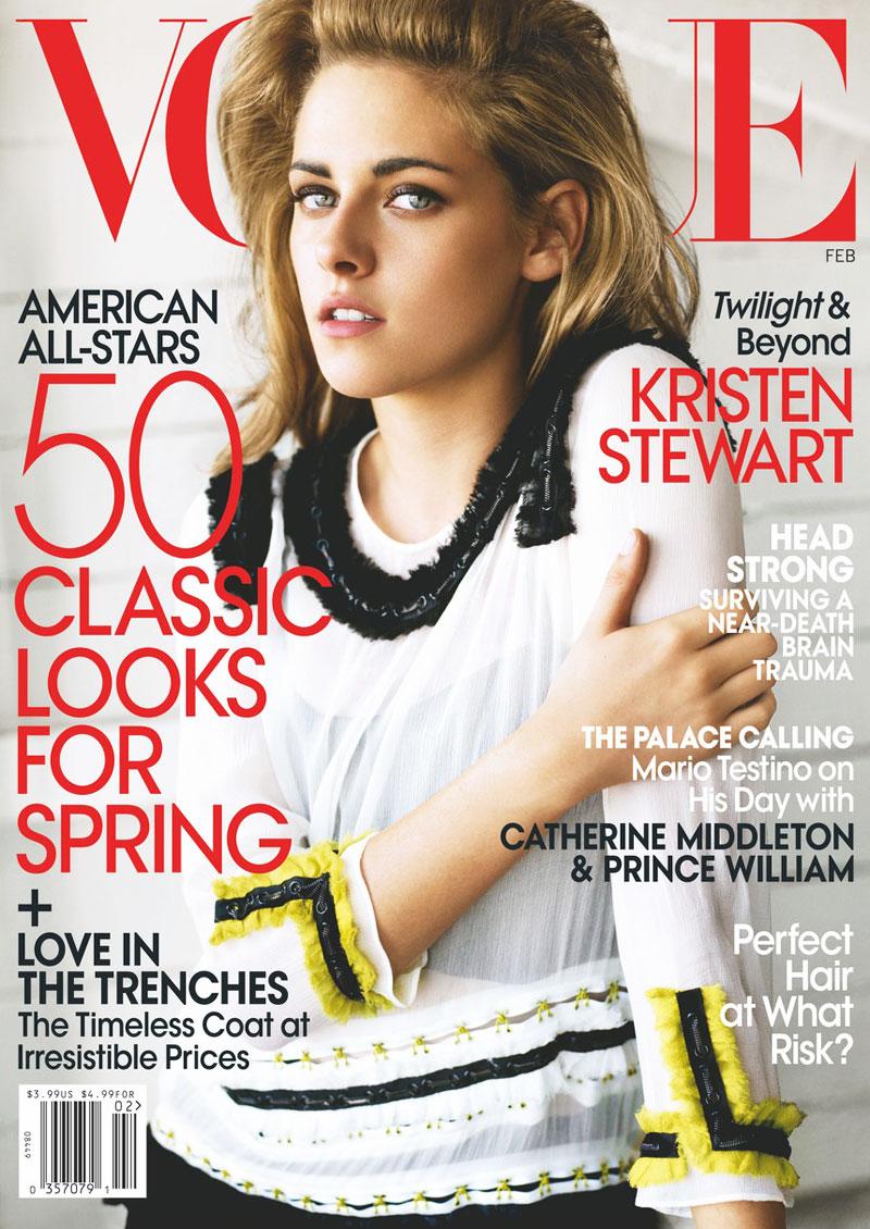 Kristen Stewart Covers VOGUE US February 21