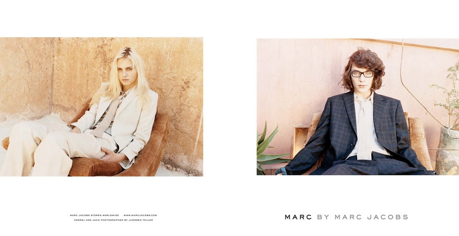 Andrej Pejic for Marc by Marc Jacobs Spring Summer 2011