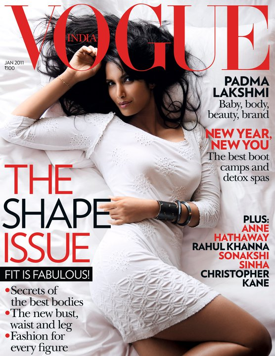 Padma Lakshmi for Vogue India
