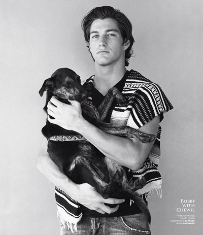 Bobby Llewellyn by Bruce Weber for VMAN