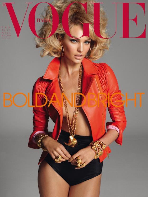 Candice Swanepoel hot Vogue (Italy) March 2012 magazine