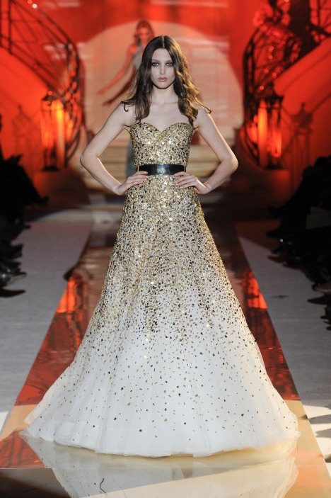 Georgina Stojiljkovic for Zuhair Murad Haute Couture Spring Summer 2011