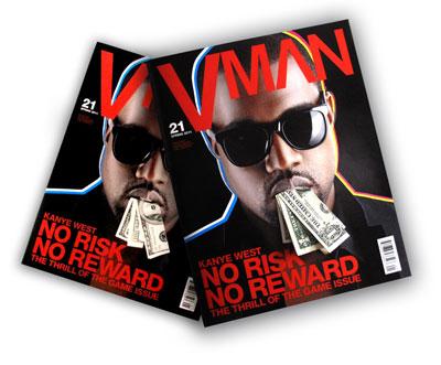 VMAN Kanye West