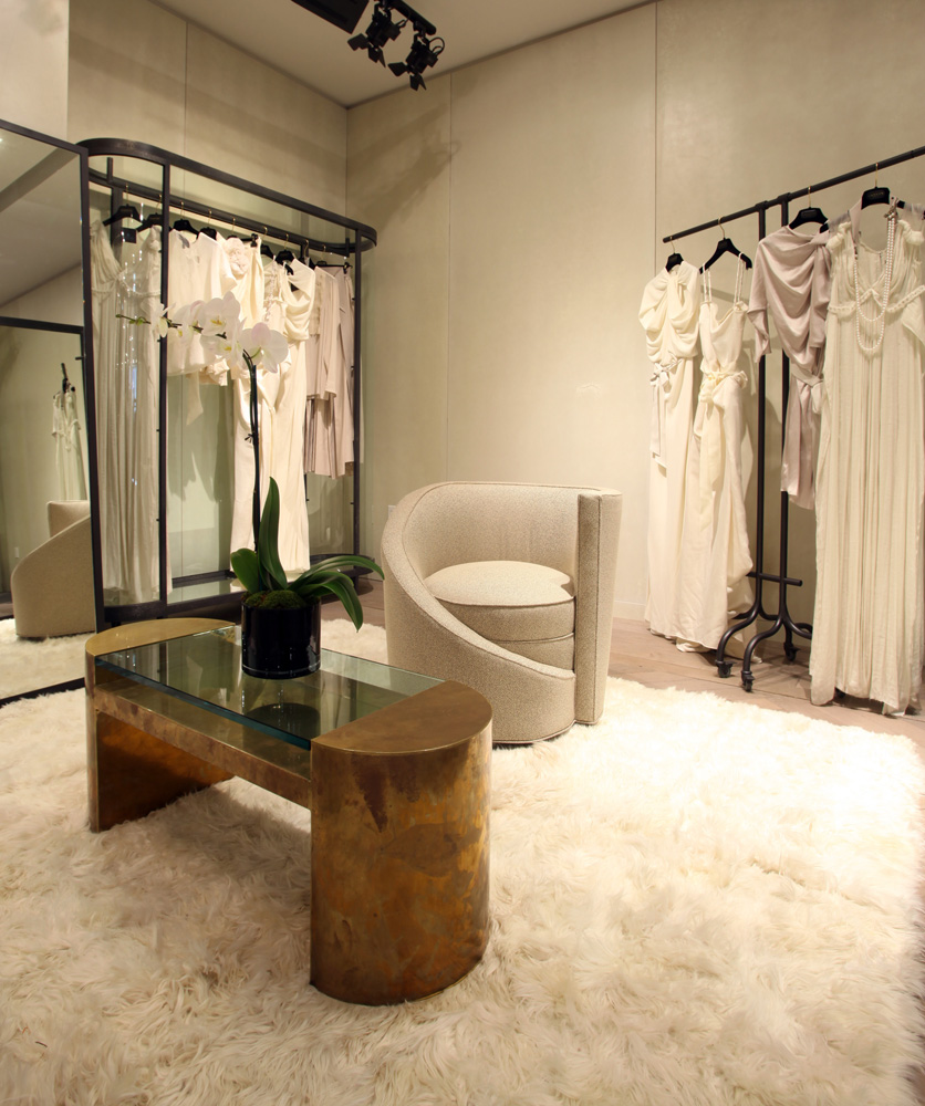 Interior Decor Stores: LANVIN Los Angeles Store On Rodeo Drive