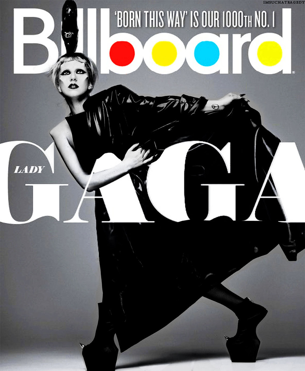 Lady Gaga by Mariano Vivanco for Billboard