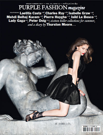 Laetitia Casta by Terry Richardson