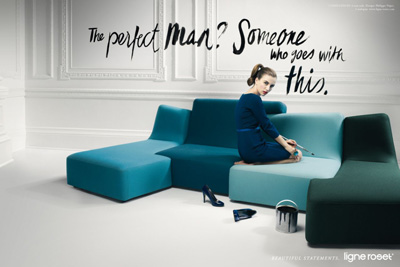 ligne roset furniture campaign by jvm. Black Bedroom Furniture Sets. Home Design Ideas