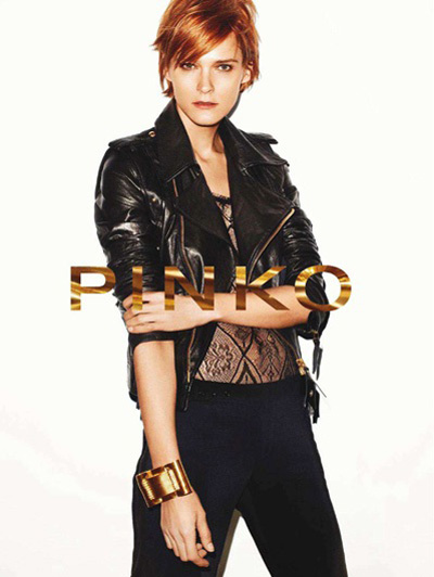 4e2e885758a8f Pinko enlists legendary supermodel Carmen Cass for their Spring Summer 2011  campaign shoot by Maciek ...