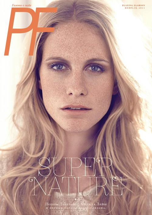 Poppy Delevingne by Brian Daly