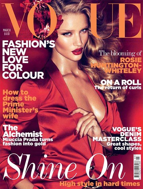 Rosie Huntington Whiteley Vogue UK