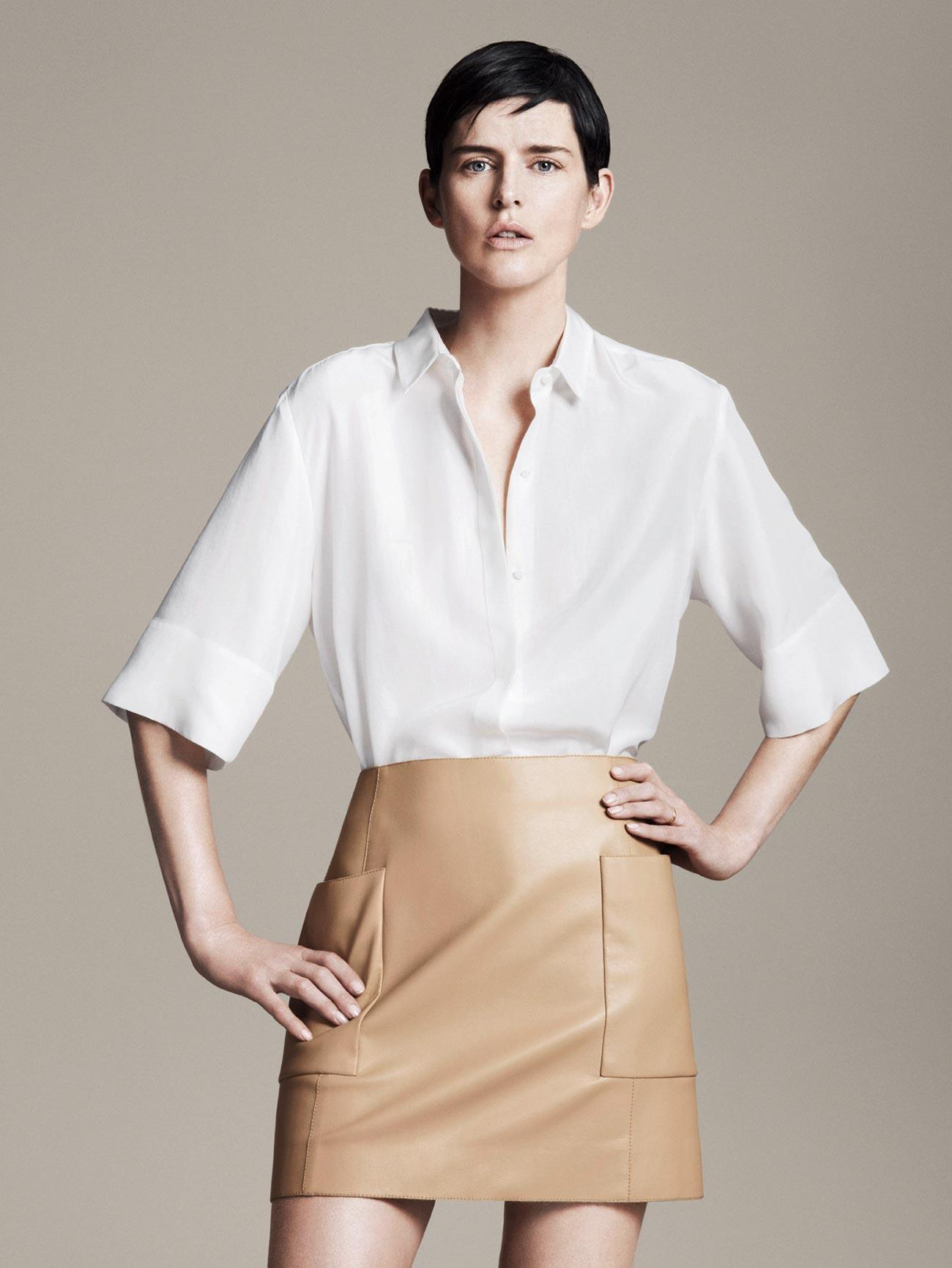 Stella Tennant For Zara Spring Summer 2011