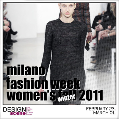 Milano Fall Winter 2011.12 Fashion Week Schedule