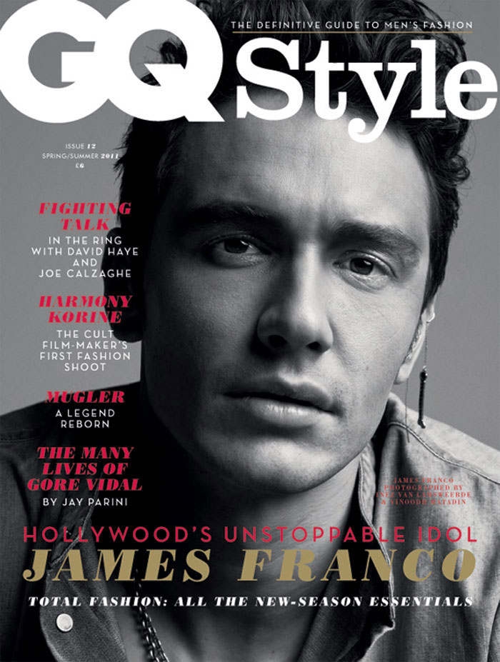 James Franco By Inez And Vinoodh For Gq Style