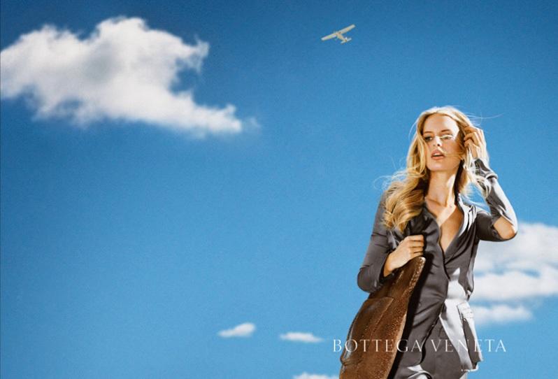 Karolina Kurkova & Santiago Montero for Bottega Veneta ...