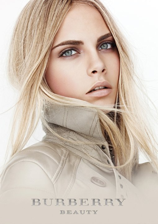 Cara Delevingne for Burberry Timepieces & Beauty Ads