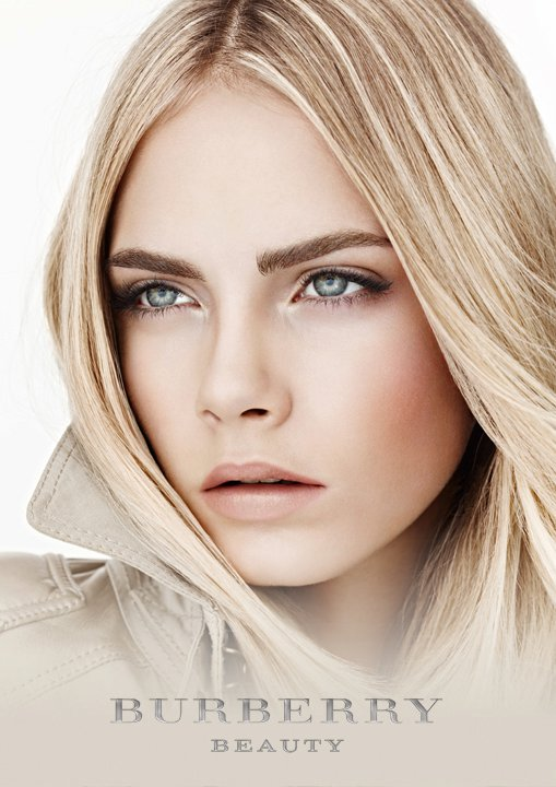 The Beautiful New Face Of Burberry Model Cara Delevingne Stars In Major Brands Latest Timepieces And Beauty Ads Sporting A Fresh Effortless Look