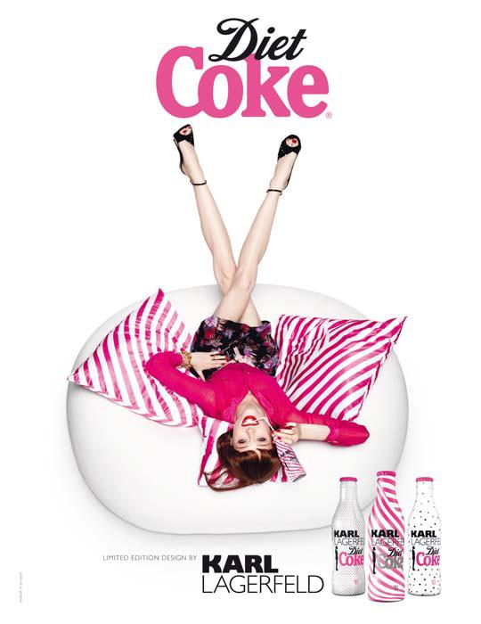 karl lagerfeld diet coke. Diet Coke by Karl Lagerfeld