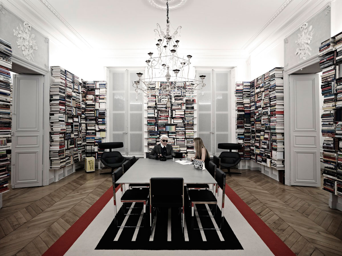 Karl lagerfeld by piotr stoklosa for viva for Decoration interieur appartement