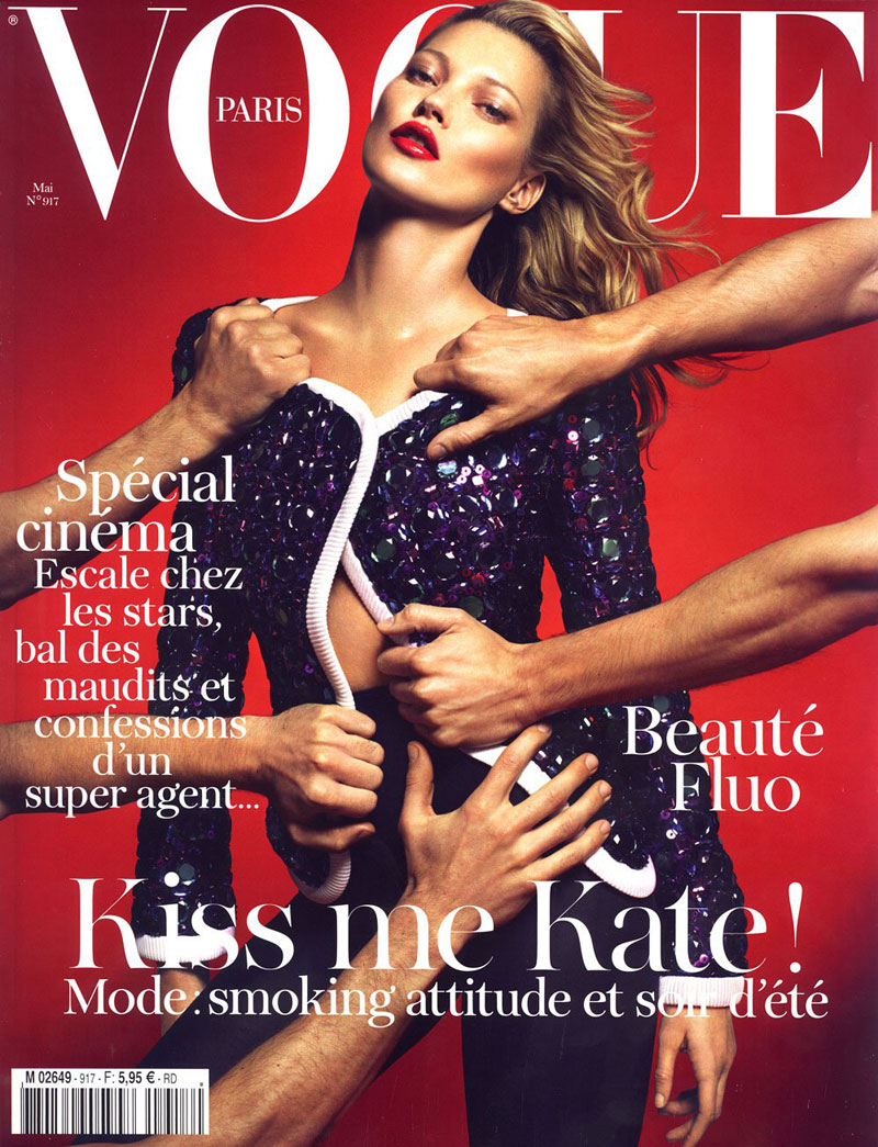 Kate Moss For Vogue Paris May 2011