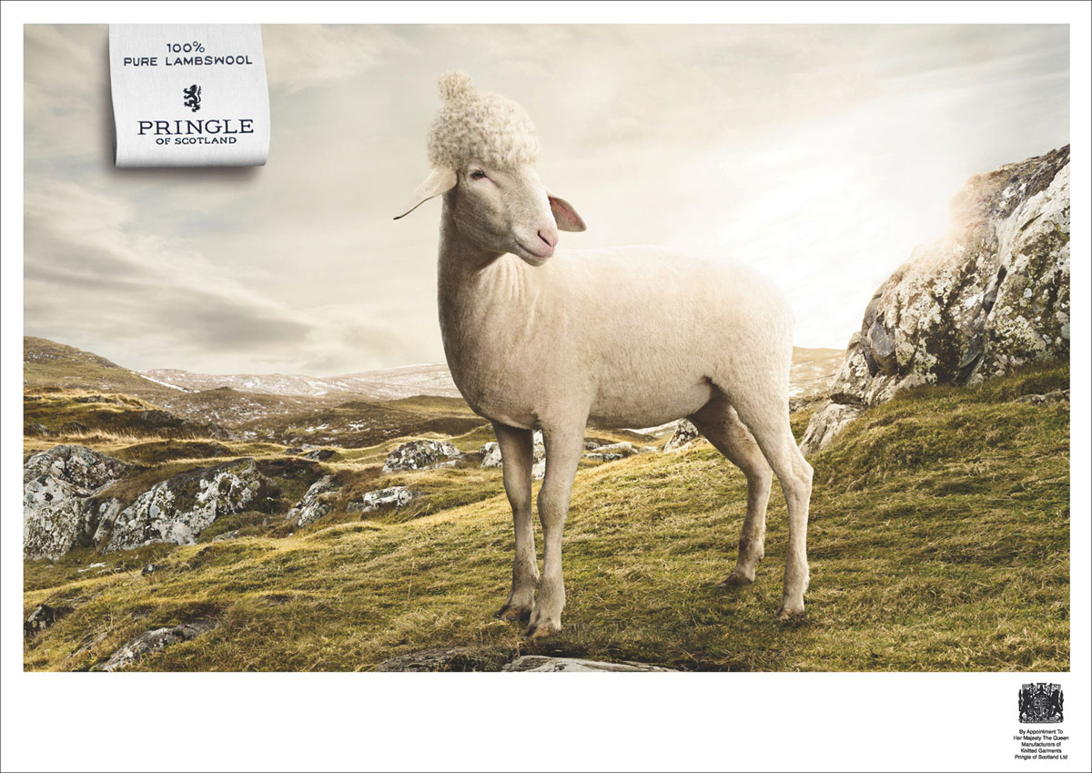 Pringle of Scotland Campaign by fischer Appelt furore