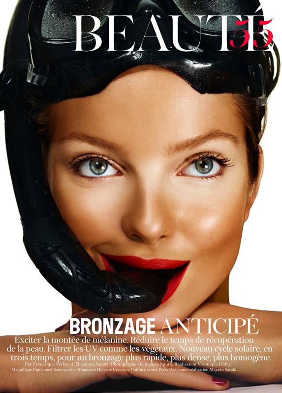 Vogue French Magazine Subscription: Eniko Mihalik By Giampaolo Sgura For Vogue Paris