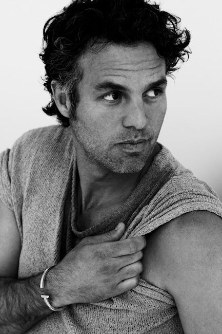 Mark Ruffalo By David Roemer For Blackbook